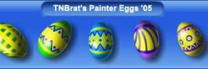Painted Eggs '05 by TNBrat