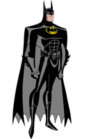 JLU Batman Forever (Panther Suit) by Alexbadass