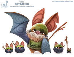 Daily Paint 2086. Battalion by Cryptid-Creations