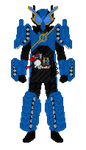 Kamen Rider Build - TankTank Form by Zyuoh-Eagle