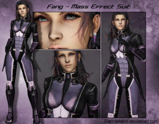 Fang-Mass Effect Suit by ZakkenSebern