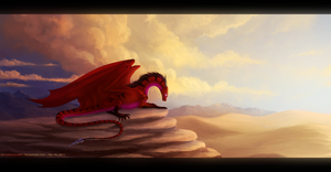 Sand Dream ~ Speed-painting by Enigmatic-Ki