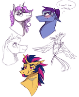 Stream doodles by Zetapold