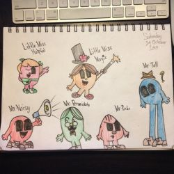 Another Mr Men show drawing  by Riyana2