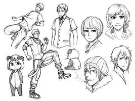 KU: Sketch Dump 2 by TAKESHl