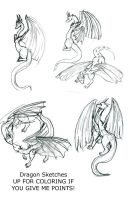 Dragons if you want them by Drakon-the-Demon