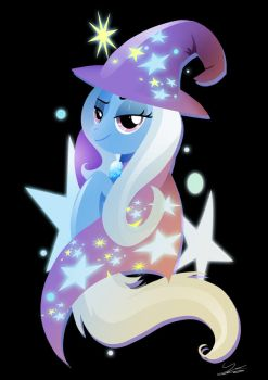 The Great and Powerful Trixie by II-Art