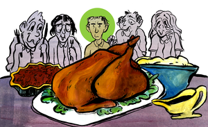 bein' a veggie on thanksgiving (editorial) by ungoth