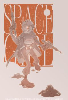 SPACE GIRL by TimTownsend