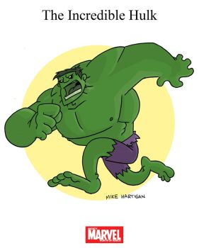 Mighty Marvel Month of March - The Incredible Hulk by tyrannus