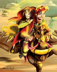 17 Finally prince Kamar rescues his princess by Noha-ElGendi