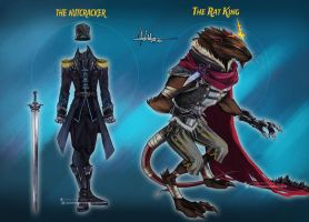 Commission: The Nutcracker and The Rat King Design by Hassly