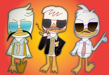 Huey, Dewey, and Louie: Sabotage by HCShannon