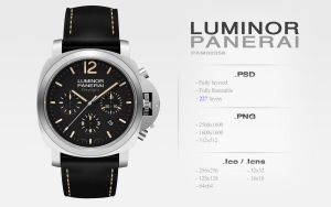 Luminor Panerai PSD | PNG | Icons by abdelrahman