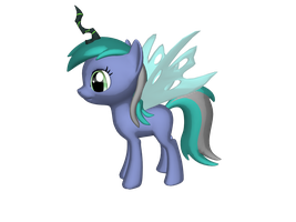 Chryssi wings and horn by PonyLumen