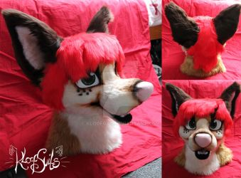 Onyx - Fursuit Head and Tutorial by Kloofcat