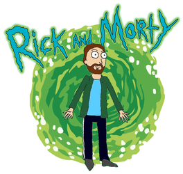 Rick and Morty OC by JasonW129