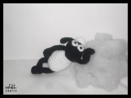 Shaun the Sheep amigurumi by GehadMekki