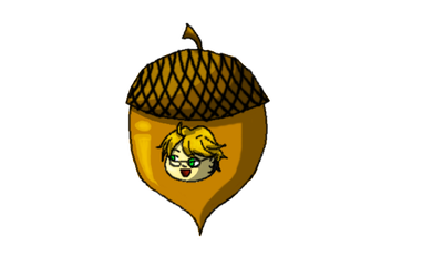Ronald in an Acorn by Chaos--Flame