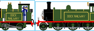 The Knapford Dock Railway Engine by Galaxy-Afro