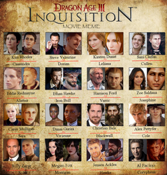 My Inquisition Cast by AlistairAndAnders