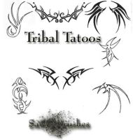 Tribal tatoo's by Sawy-Stock