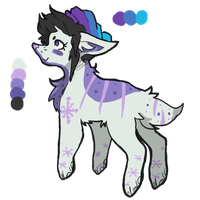 snow pup adopt (open!!) by charlie-adopts