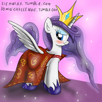 Princess Platinum 30 min art challenge by Ziemniax
