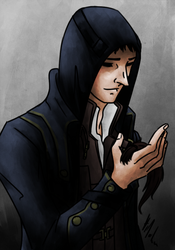My dear Corvo, why did you have to die? by Hizoku-no-Oni