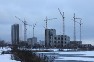 High-Rise Construction 4 by ManicHysteriaStock