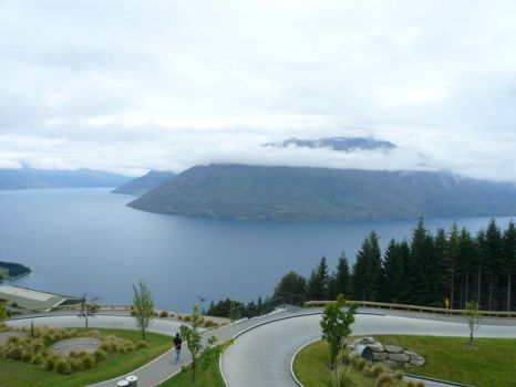 NZ: Landscape from the Luge by theilsanne
