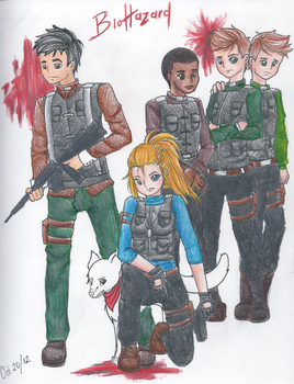 BioHazard Military by xo-Sakura-chan