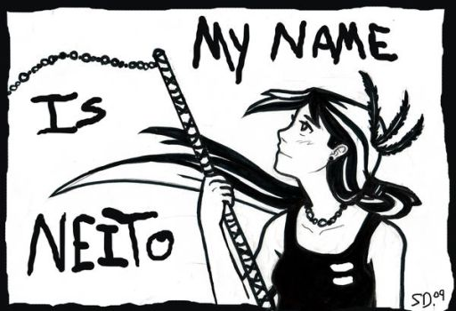 MY NAME IS NEITO for Wings by MagicPen