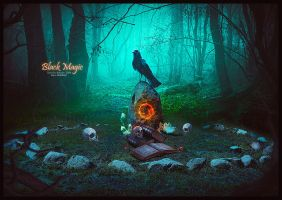 BLACK MAGIC by saritaangel07