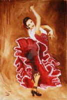 Flamenco by StephanieVALENTIN