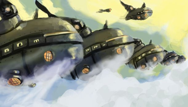 Airships by Chasmworks