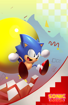 Sonic Mania by jeanhunter