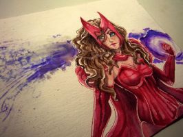 Scarlet Witch by thiefess