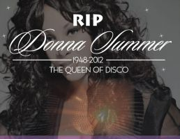 RIP DONNA SUMMER by mambographic