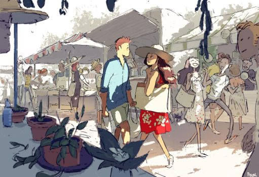 Farmers market. by PascalCampion