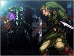 Link vs Queen Alien by TheInsaneDarkOne