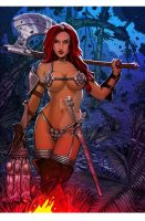 Red Sonja #page02 by MadManiaco
