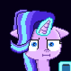 Starlight Glimmer I see (pixel art) by SuperHyperSonic2000