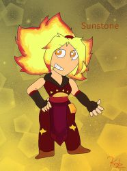 My Sunstone-Redesign  by Kiritost