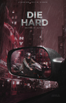Die Hard - wattpad cover by reeawhatever
