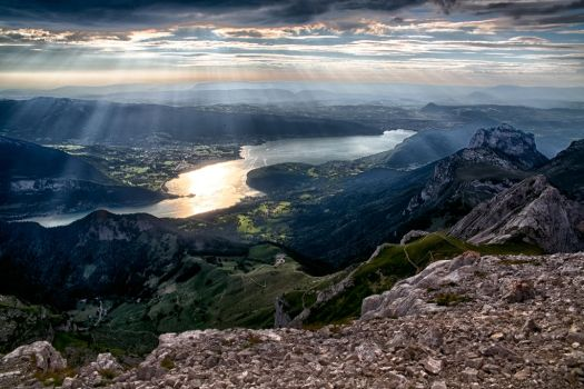 Lac d'Annecy 3 by arnaudperret
