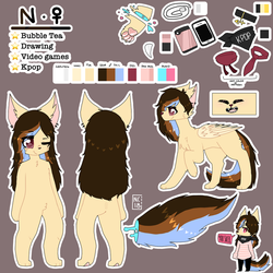 Ns new ref by Bluerabbit133