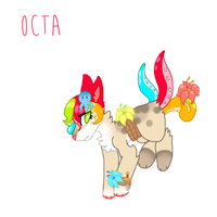 OPEN + Tropical Adoptable + by neat-adopts