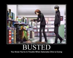 Busted... by MariSanomaFanFic