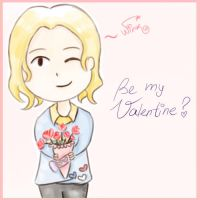 Be my Valentine? *APH-France* by MischievousRibbon